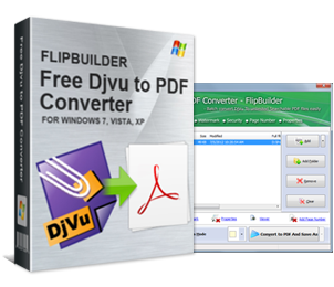 Free DjVu to PDF – Convert eBooks to Adobe PDF format files