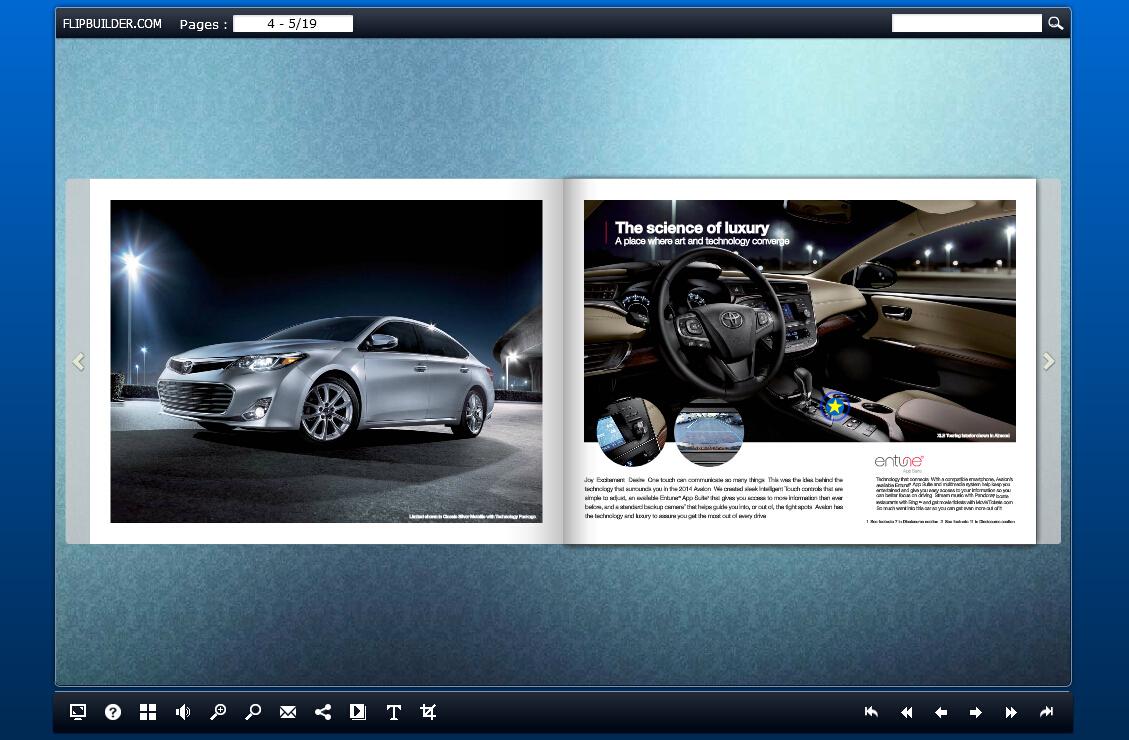 free car magazine template