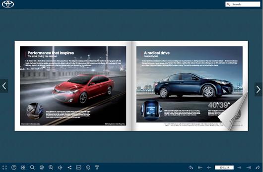 Fantastic Car Magazine Template For Free Flipbuilder Com