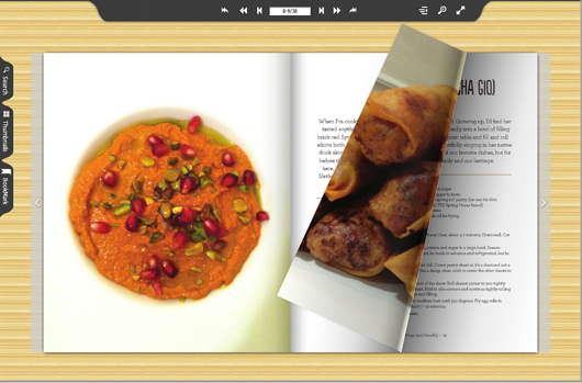 Create stunning cooking magazine from free template flipbuilder free cooking magazine template forumfinder Image collections