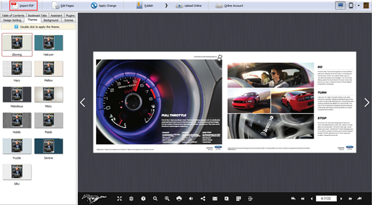 Create Elegant Motor Magazine by Using the Attractive Template ...
