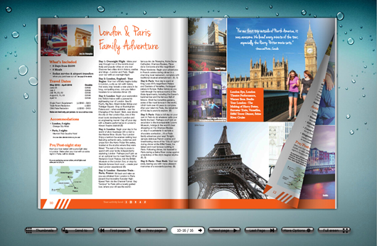Parenting Magazine Created with Beautiful Magazine Template ...