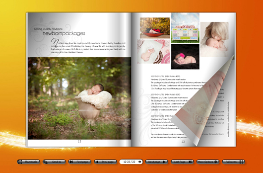 Photo Magazine Template with One-stop Resource for Digital ...