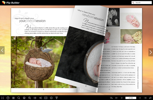 free photo magazine template