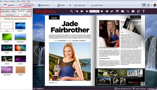 create a flash magazine from PDF