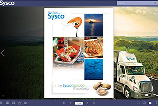 Sysco Seafood catalog demo