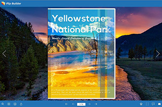 Yellowstone Park Brochrue