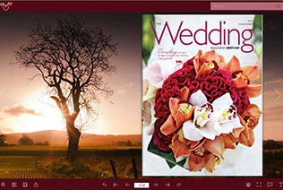 wedding magazine demo