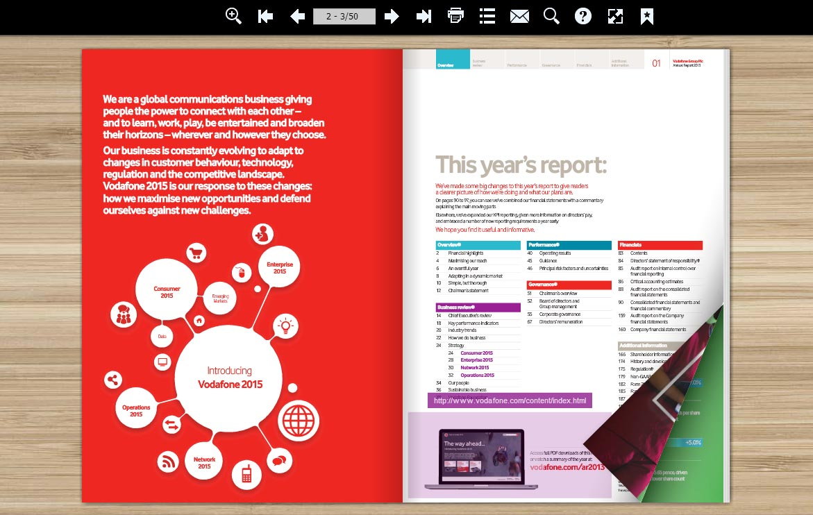 annual report demo