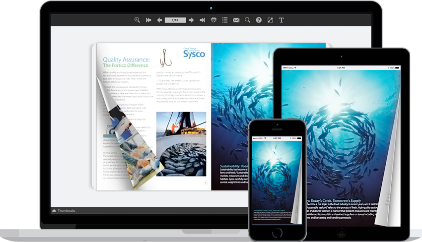 PDF to Page Flip Software Can Simulate
