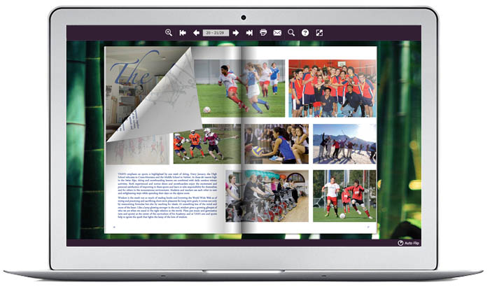 Is there a website where you can make your yearbook available online?