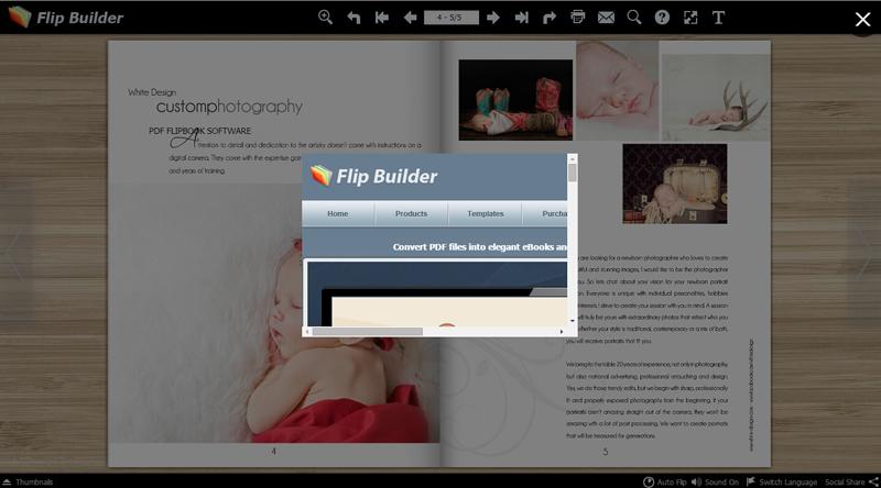 Open embed HTML Window