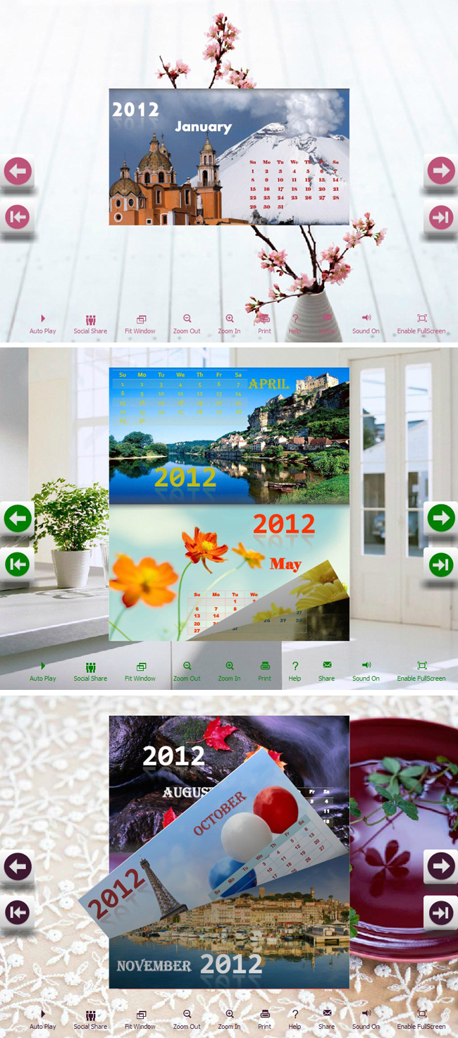 Windows 7 Free_Flip_Themes_Calendar_Indoor 1.0 full