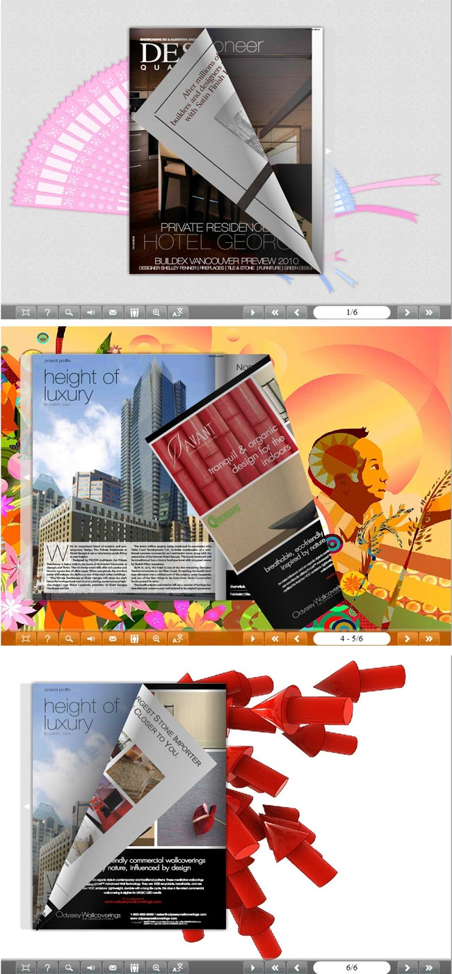 Flipbook_Themes_Package_Classical_Artistic full screenshot