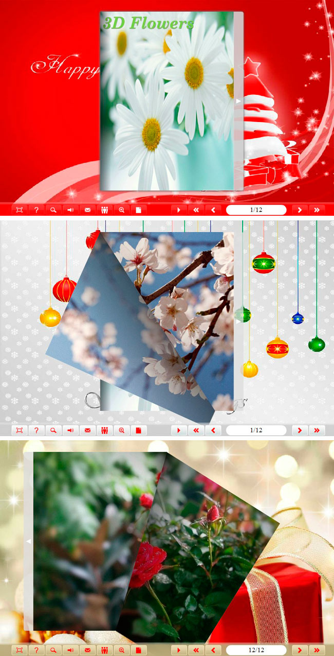 Windows 7 Flip_Themes_Package_classical_Christmas 1.0 full