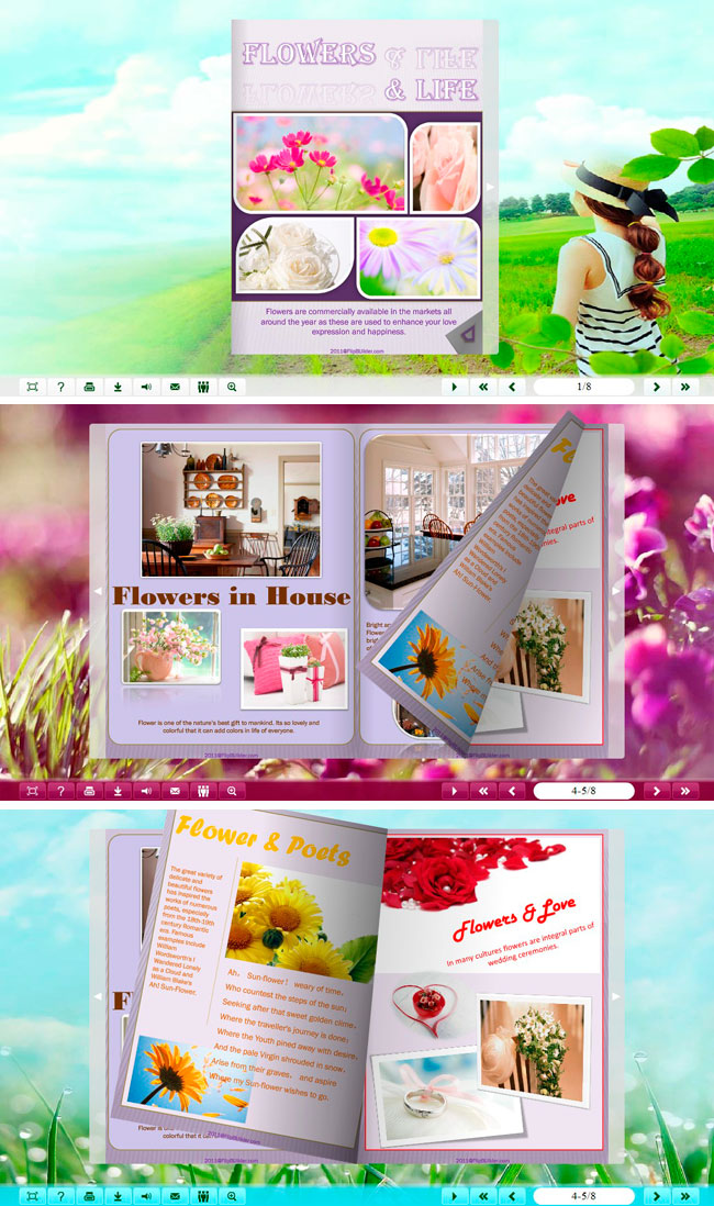 Classical Spring Theme Package full screenshot