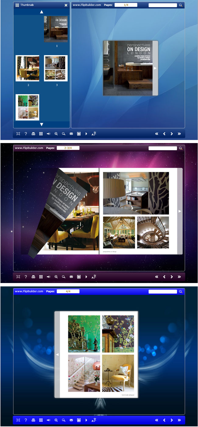 Free download Flipbook_Themes_Package_Float_Brief