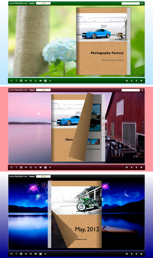 Float Gallery Flip Theme Package 1.0 full