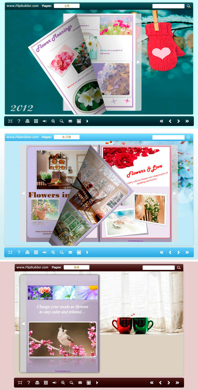 use the templates in float new year theme package to build your new year e