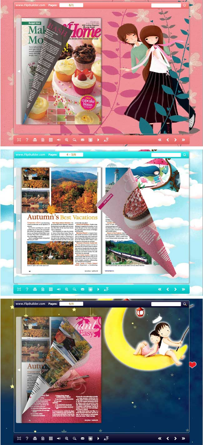 Flipbook_Themes_Package_Float_YouAndMe full screenshot