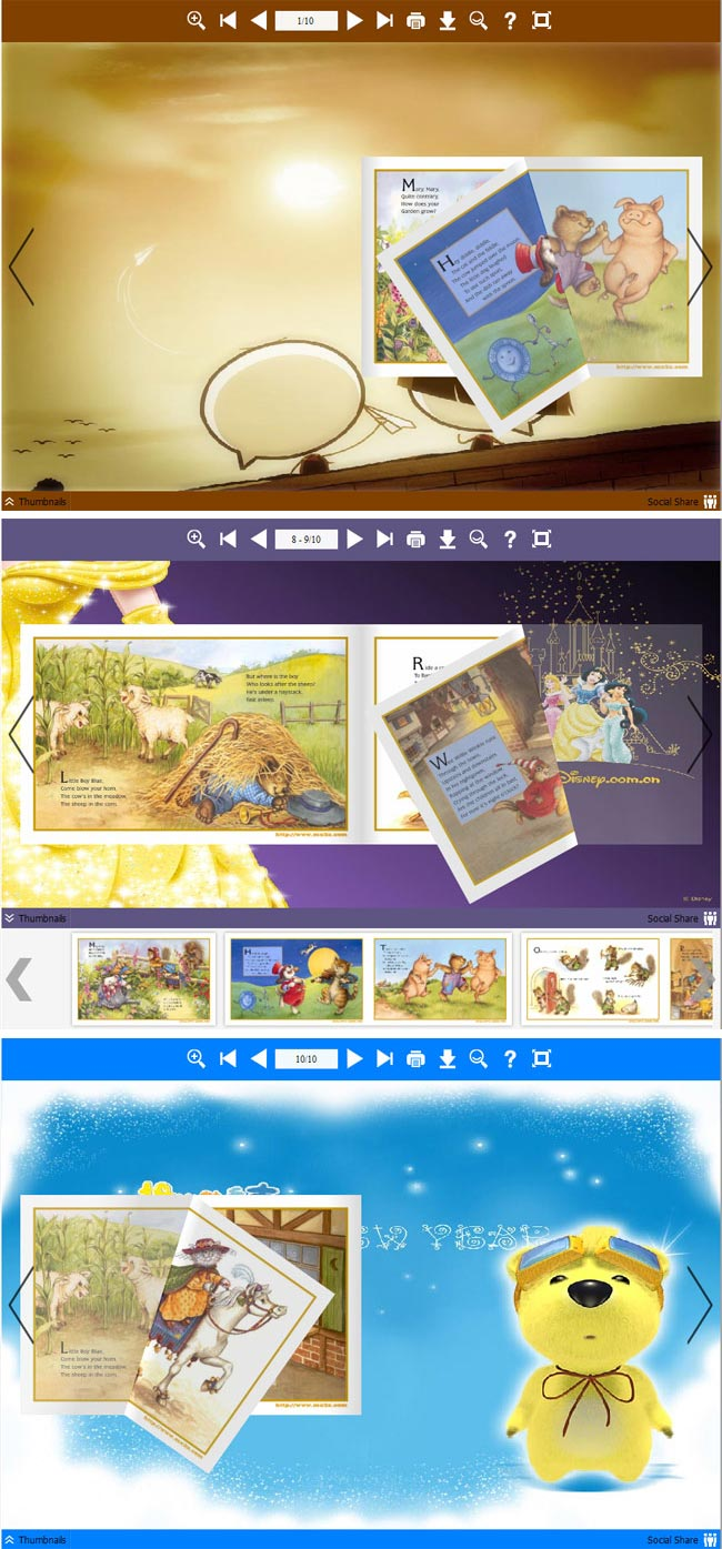 Flipbook_Themes_Package_Neat_Cartoon