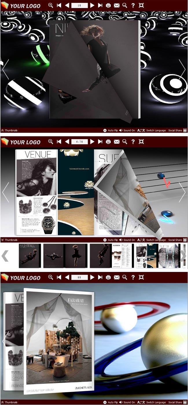 Flipbook_Themes_Package_Neat_Fashion full screenshot
