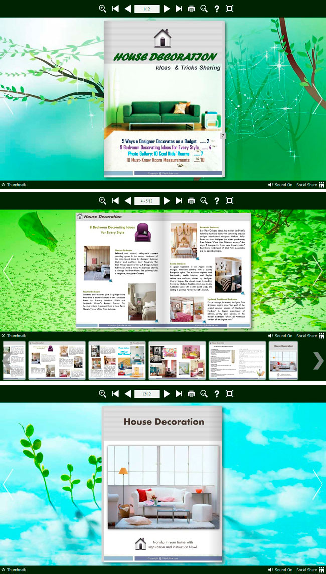 Flipbook_Themes_Package_Neat_Green 1.0 full
