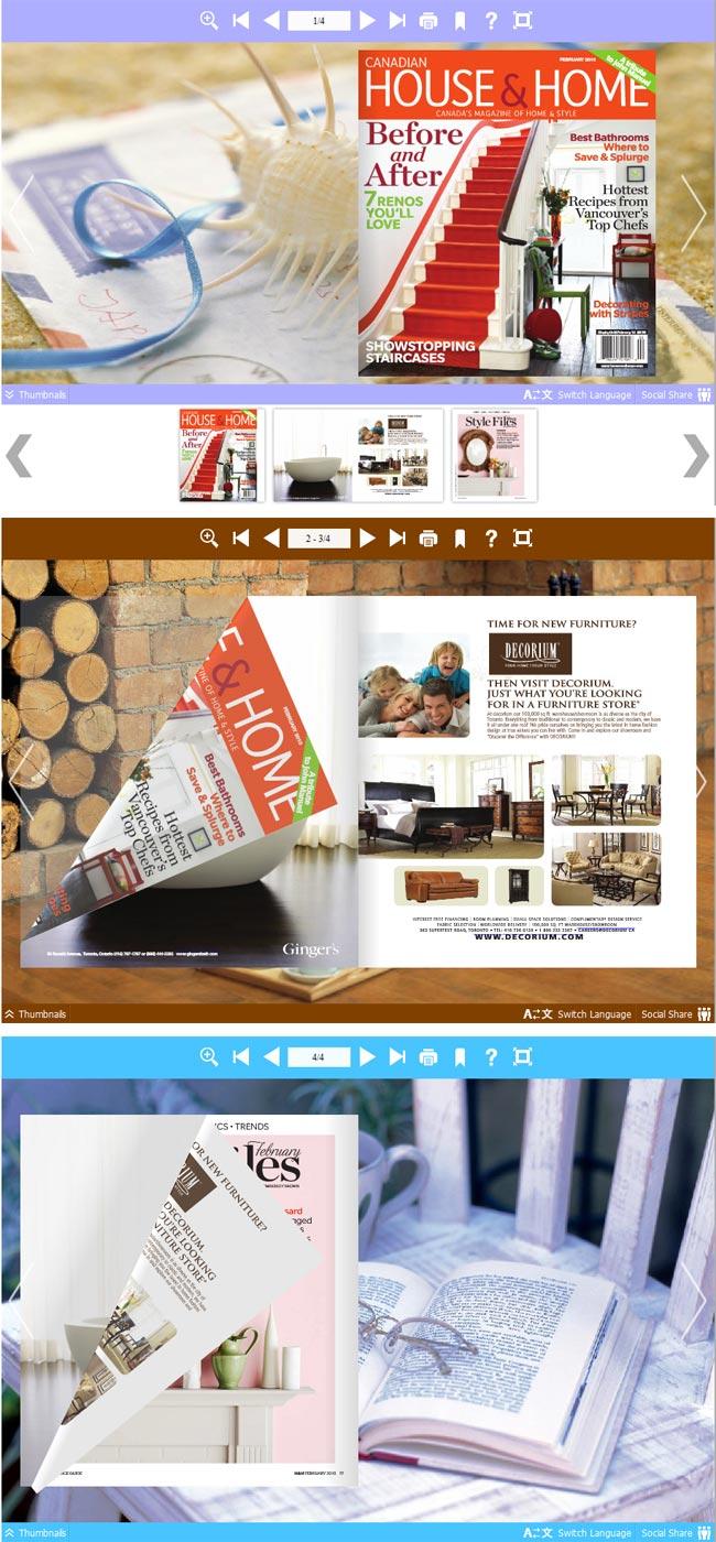 Flipbook_Themes_Package_Neat_Home full screenshot