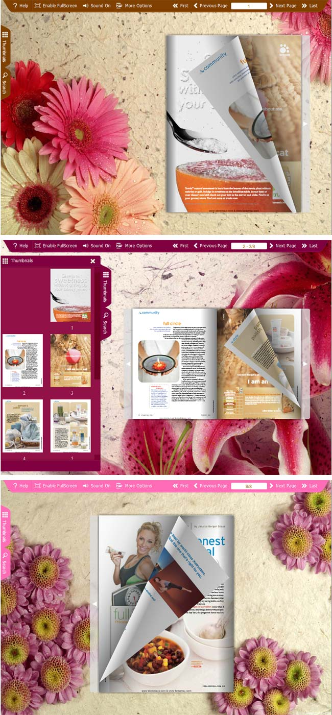 Flipbook_Themes_Package_Spread_Flowers 1.0 full