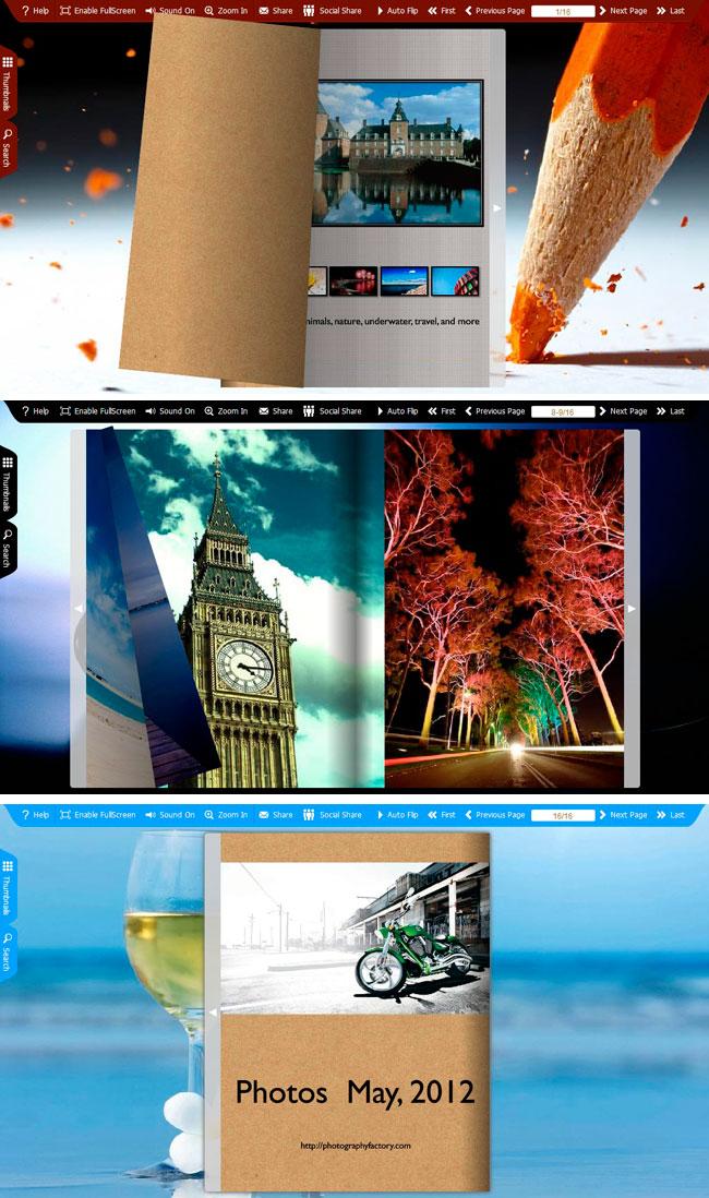 Spread Gallery Flip Theme Package
