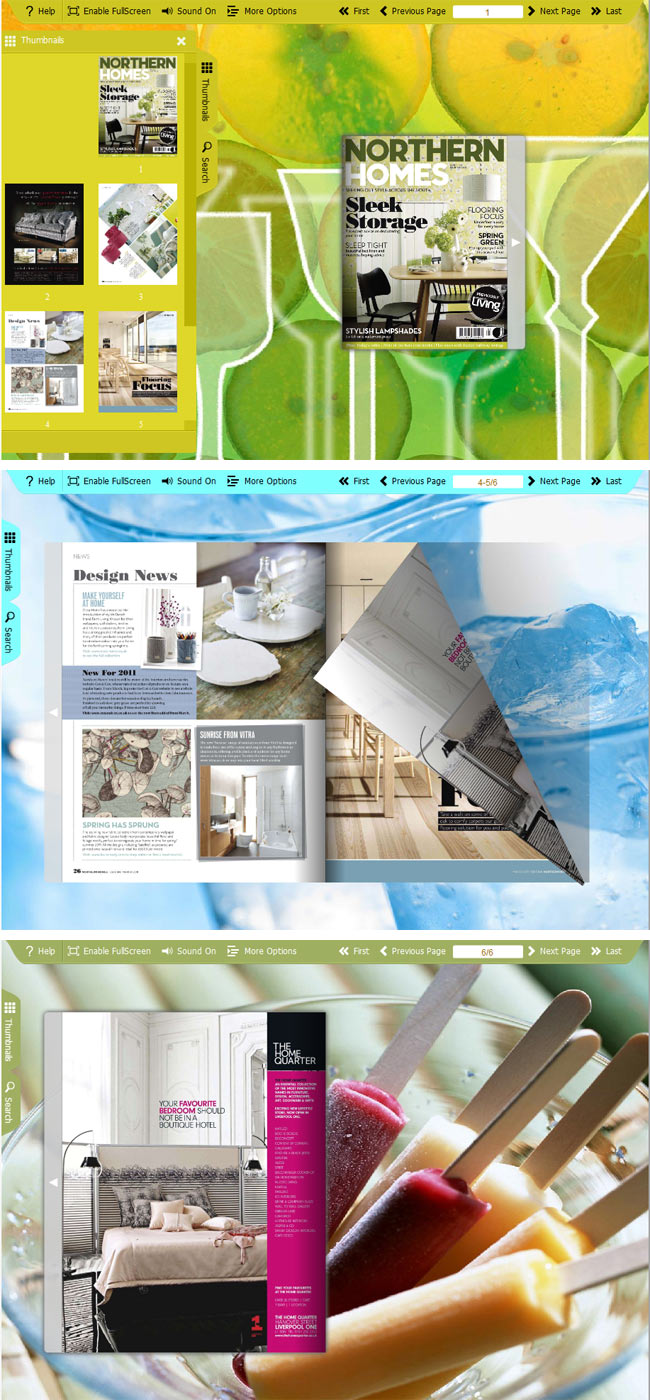 Flipbook_Themes_Package_Spread_Ice