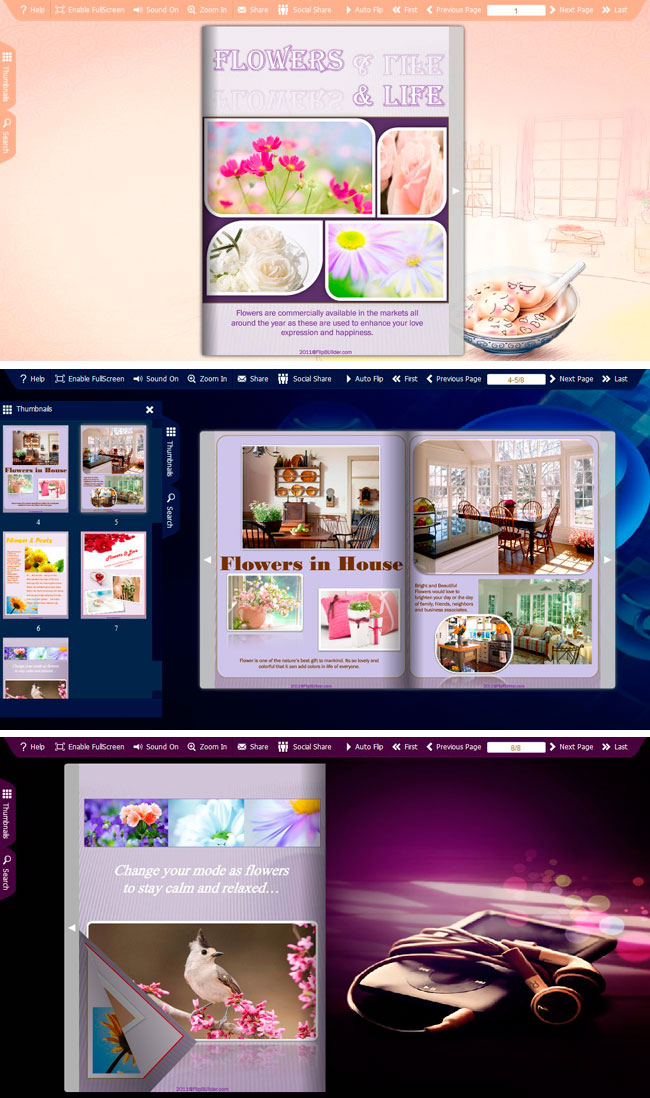 Spread Life Part Theme Package