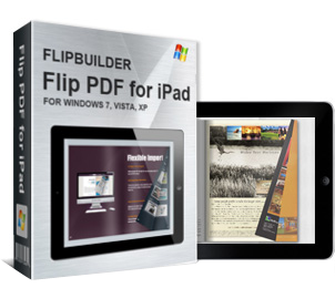 Flip book for iPad