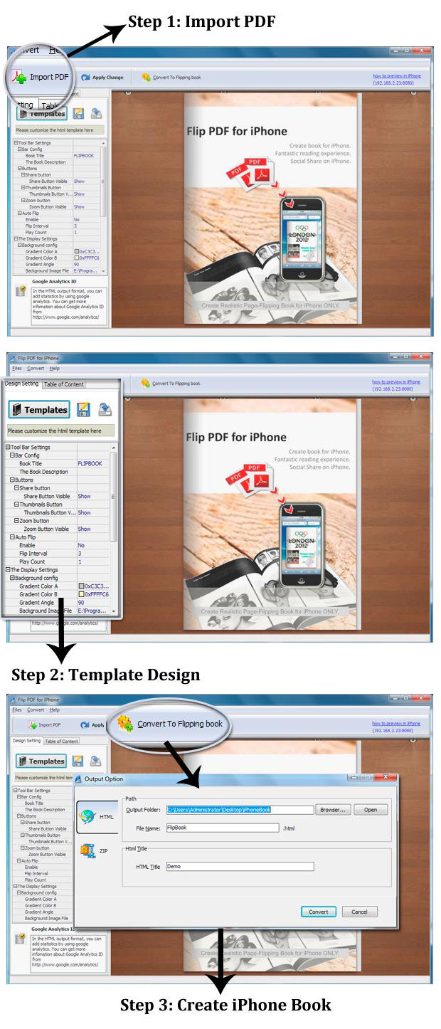 Easy Steps Of Using Flip Pdf For Iphone