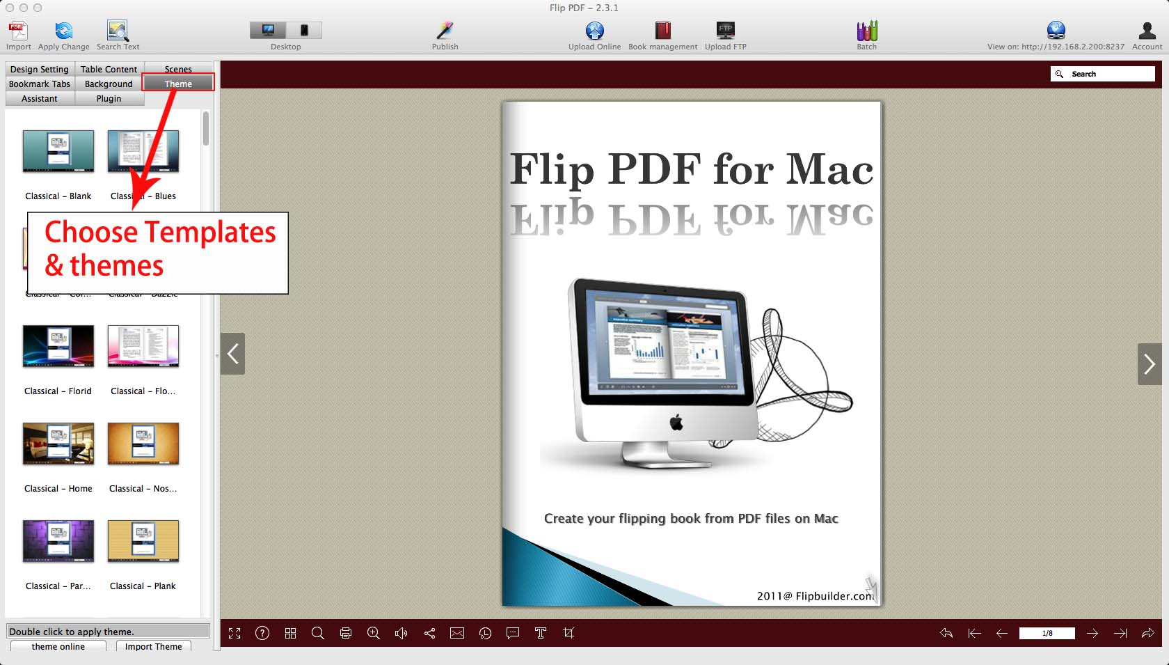 Flip PDF for Mac: Convert PDF to Stunning Page-flipping