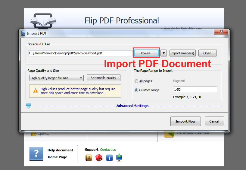 Superior Flip PDF Professional Convert PDF To Flipbook And Embed Multimedia