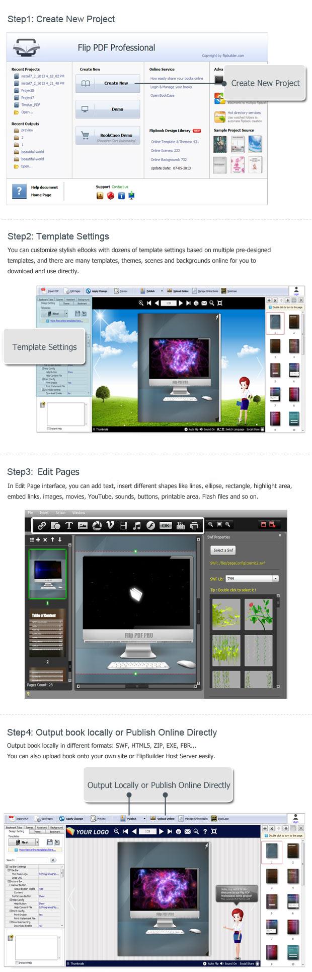 convertire pdf in swf