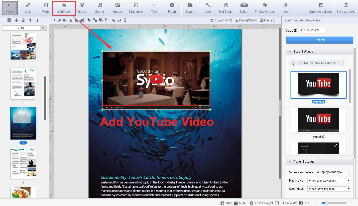 how to flip pages in a pdf