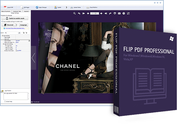 flip pdf professional convert pdf to flipbook and embed multimedia