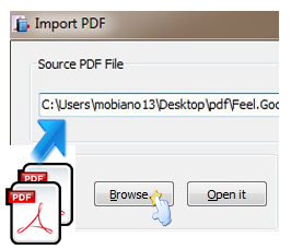 importing and image to a pdf file do
