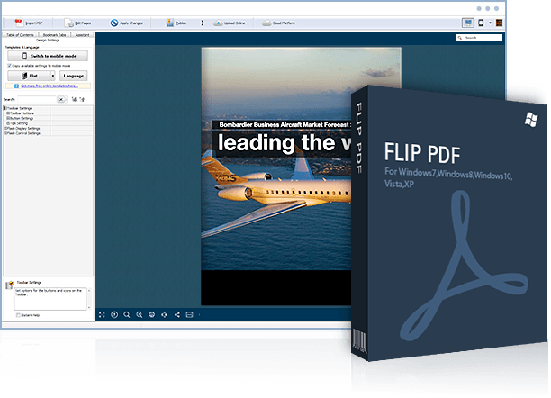 Flip PDF: Professional Page Flip Software to Turn PDF into Realstic