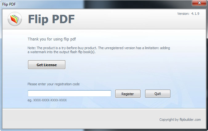 Main Window Main Menu Main Menu File Create New Create A New Project Import Pdf Import A Pdf Or Multiple Pdf Files And Convert To Flipbook Open Project Open A Flipbook Project Flb Format File That You Ve Saved Open The Project From Output Folder