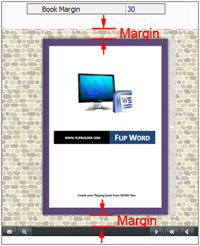 how to set margins for all pages in word