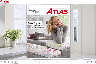 Showcase various nice ebook online with beautiful themes Design house catalog