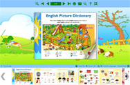 children learning book demo