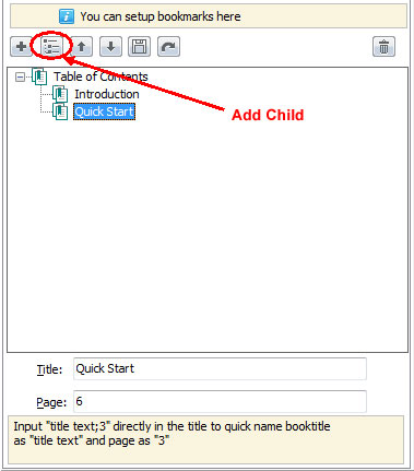 add_bookmark add child