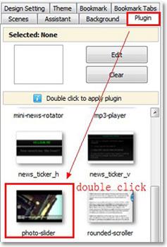 append flipbook widget