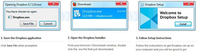 flip upload with dropbox register