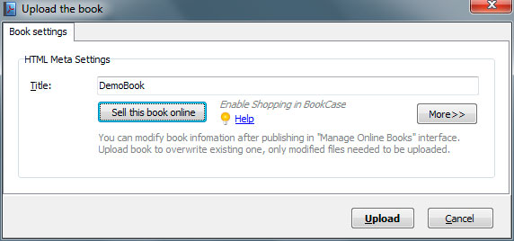 "Check "" I want to sell this eBook online "", and then click ""Account ...: www.flipbuilder.com/bookcase/ebook-selling.html"